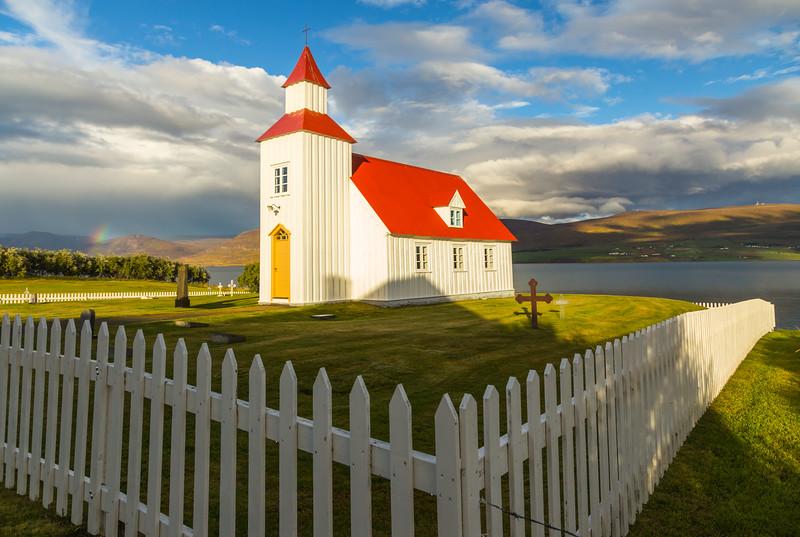ICELAND-Glæsibær-Glæsibærkirkja