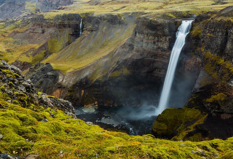ICELAND-Háifoss