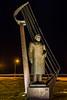 ICELAND-REYKJAVIK-Höfði-Statue of Mikhail Gorbachev