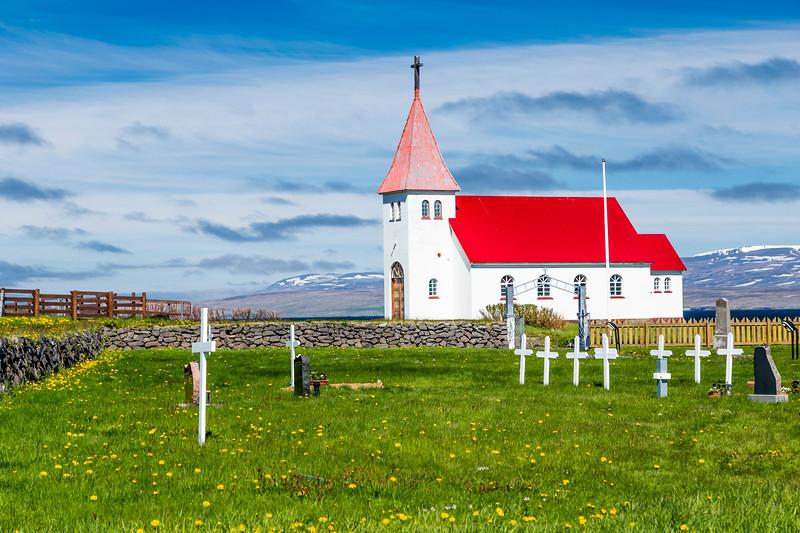Iceland-Westfjords-Prestsbakki [Church]
