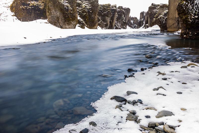 Iceland-Fjaðrárgljúfur Canyon