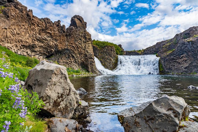 Iceland-Hjálparfoss