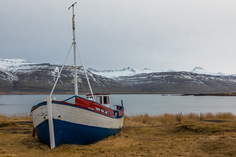 Iceland-Breiðdalsvík-harbor