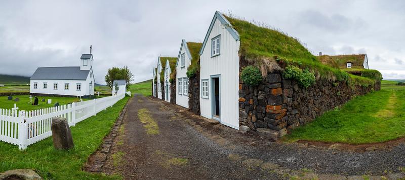 Iceland-Grenjaðarstaður Turf House