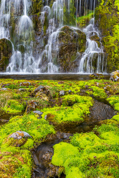 Iceland/Island-Westfjords-Hnjótur waterfalls