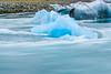 ICELAND-Jökulsárlón-Outflowing tide