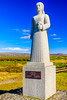 ICELAND-Selvogur-Strandarkirkja-Landsyn Statue