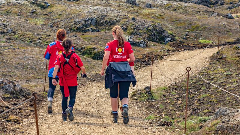 Iceland-Fjallabak Nature Reserve-Landmannalaugar-SARS-Search and Rescue