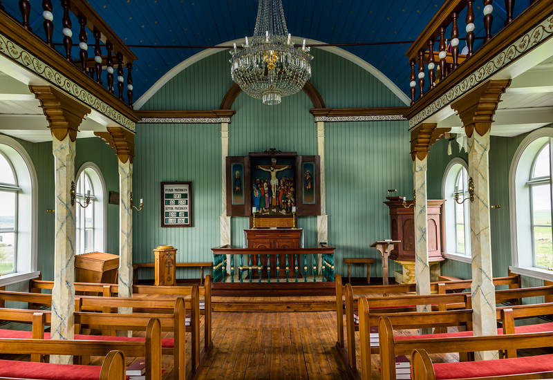 Iceland-Hraungerði-Hraungerdiskirkja [Church]