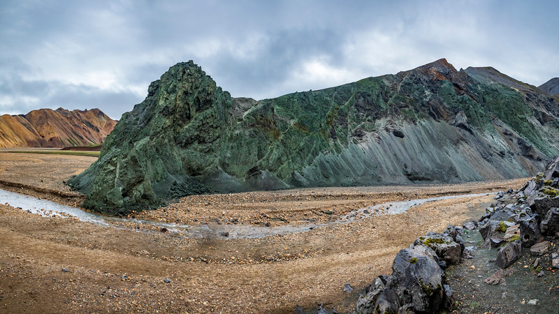 Iceland-Fjallabak Nature Reserve-Landmannalaugar-Blue Mountain