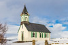Iceland-Thingvellir National Park-UNESCO WORLD HERITAGE SITE-Þingvellir CHURCH