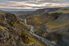 ICELAND-Þjórsárdalur [valley]-Fossa River
