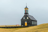Iceland-REYKJANES PENINSULA-Hvalsneskirkja and Cemetary