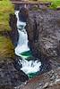 Iceland-JÖKLA-Studlagil Canyon waterfall