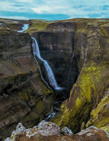 ICELAND-Granni [waterfall]