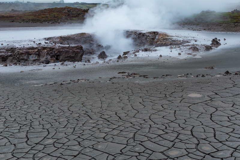 Iceland-Gunnuhver Geothermal area