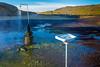 ICELAND-Krafla Geothermal Area-Shower and sink