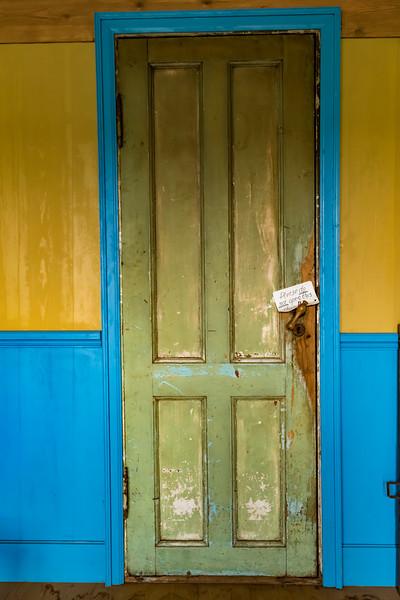 Iceland-Grenjaðarstaður Turf House-Please DO NOT open this door!!