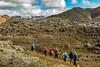 Iceland-Fjallabak Nature Reserve-Landmannalaugar hikers