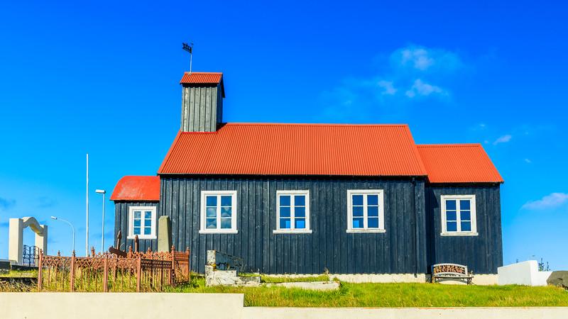 ICELAND-HOFNIR-KIRKUVOGSKIRKA