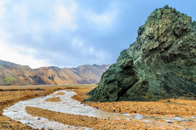 ICELAND-Fjallabak Nature Reserve-Landmannalaugar-Blue Mountain