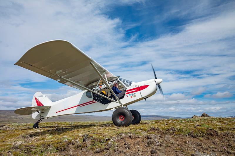Iceland-Hrauneyjar-Zlin Savage Cub-No rumnway needed