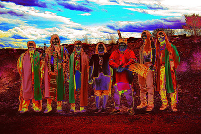 Pow Wow in Terlingua, Texas.