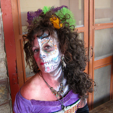 "MZ Pam on the ""Day of the Dead"" in Terlingua, Texas"
