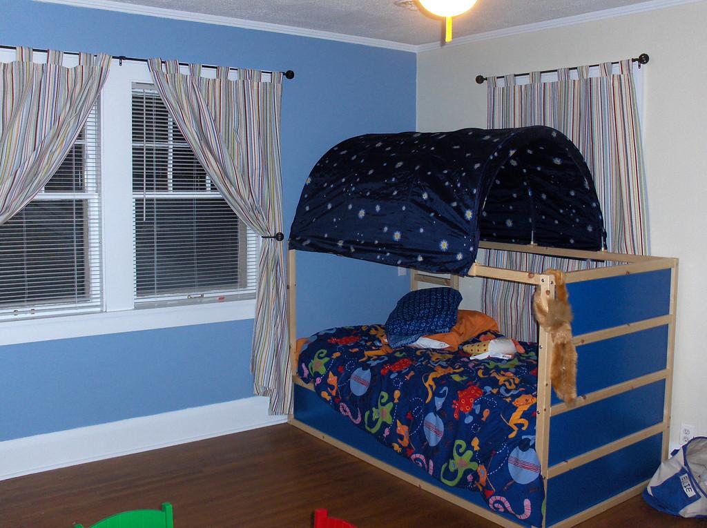 Elliott's Big Boy Room - finished bed