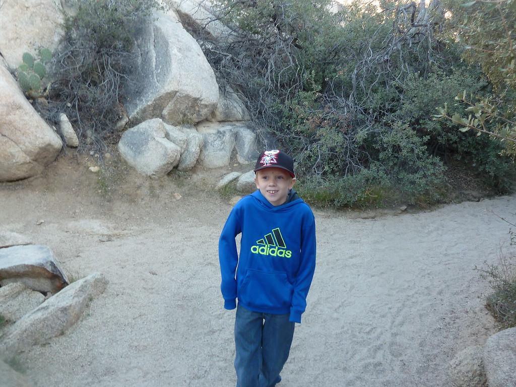 Elliott at Joshua Tree