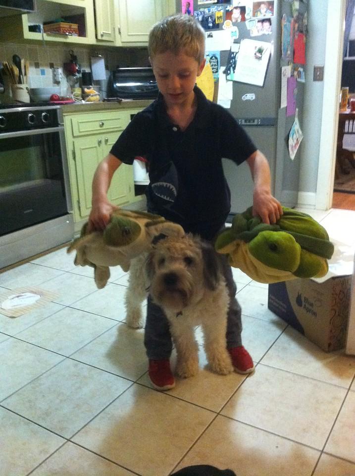 Soren and Hazel and Turtles