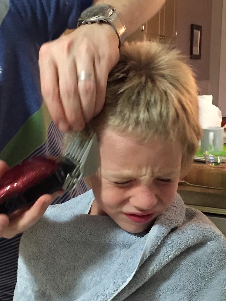 Soren gets small hair