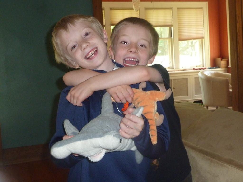 Elliott and Soren