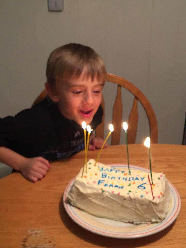 Ferris's 6th Birthday