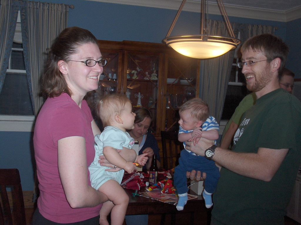 Erin, Lucy, Josh, and Ferris
