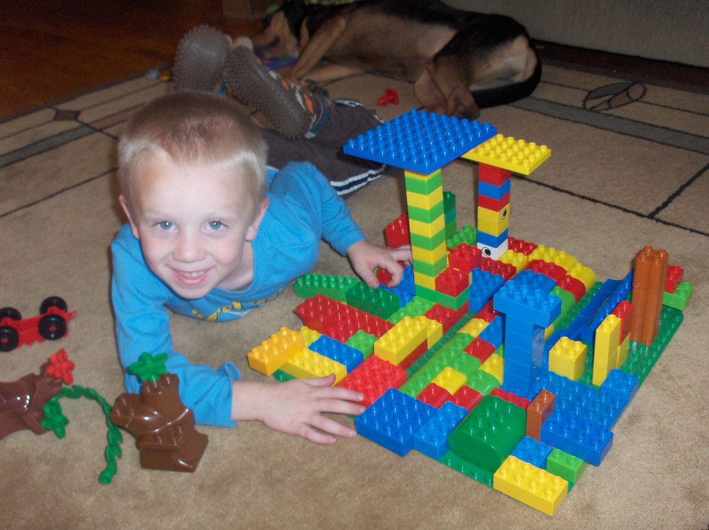 Elliott's lego city