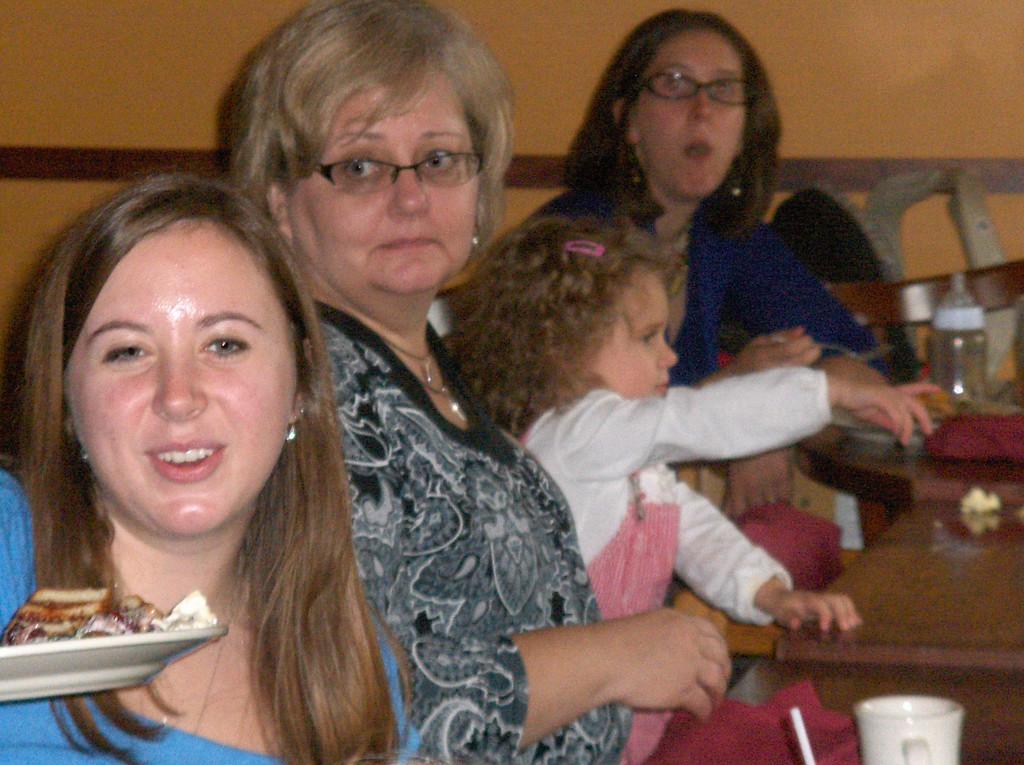 Sarah, Grandma, Olive, Sarah