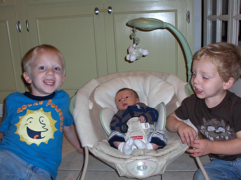 3 Swenson men