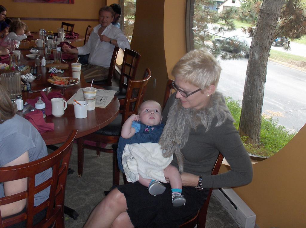 Aunt Annie with Addie