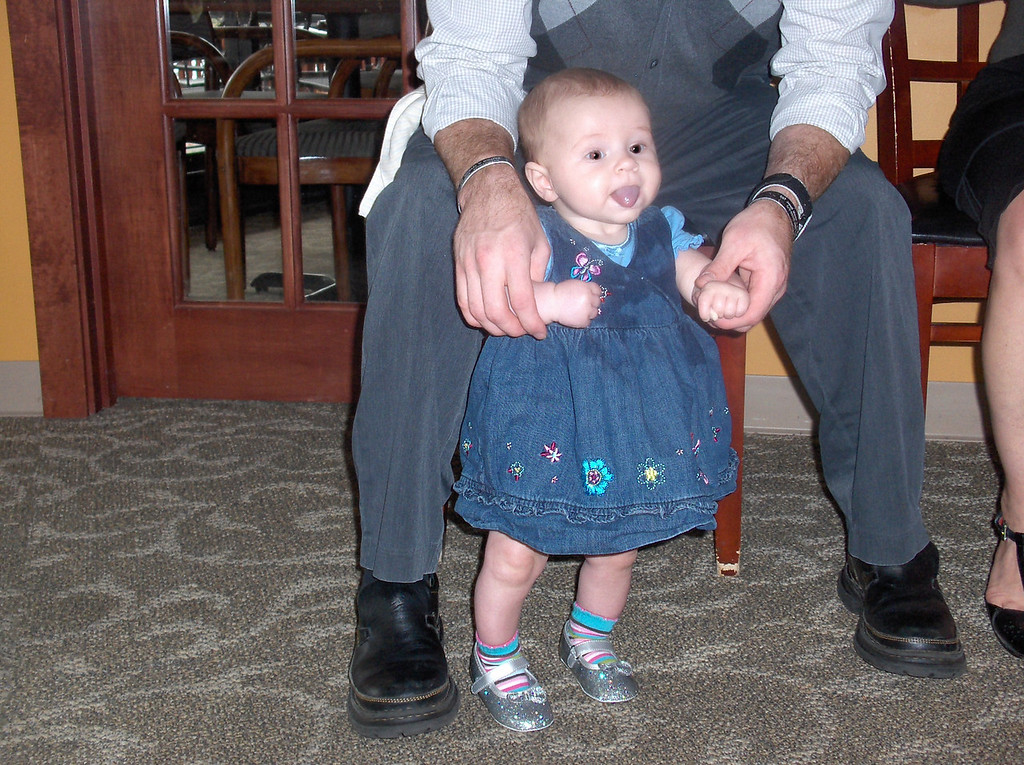Adaline with daddy