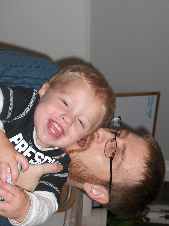 Soren with Daddy