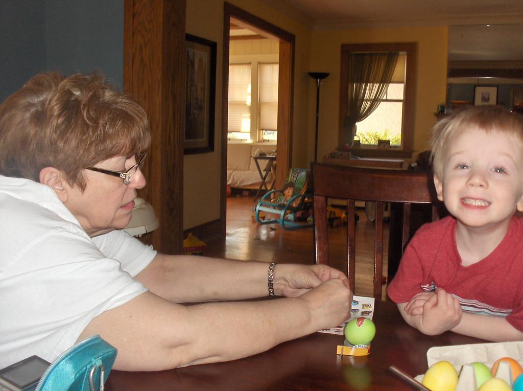 Easter, April 2009