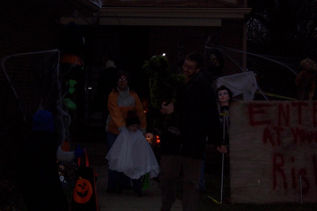 Soren, Elliott, Gavin, and Olive Halloween