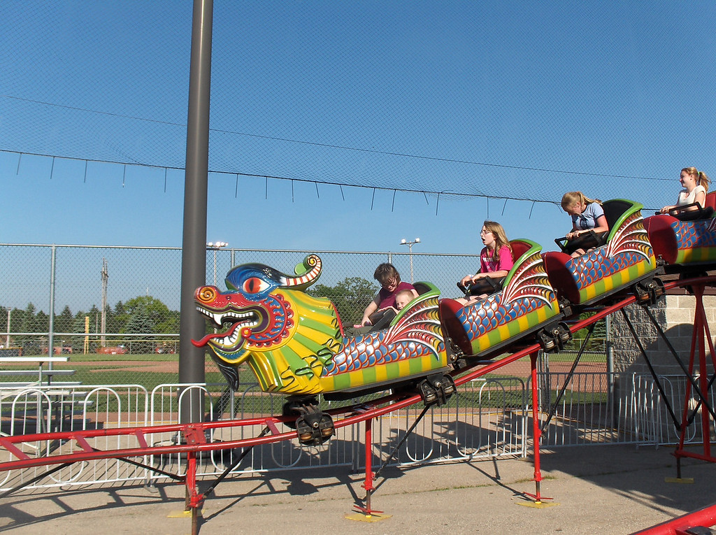 Rides at the Chocolate Festival