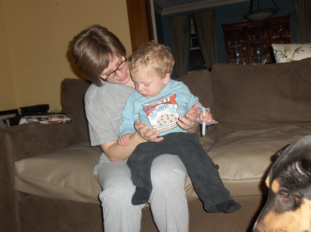 Soren with Mommy