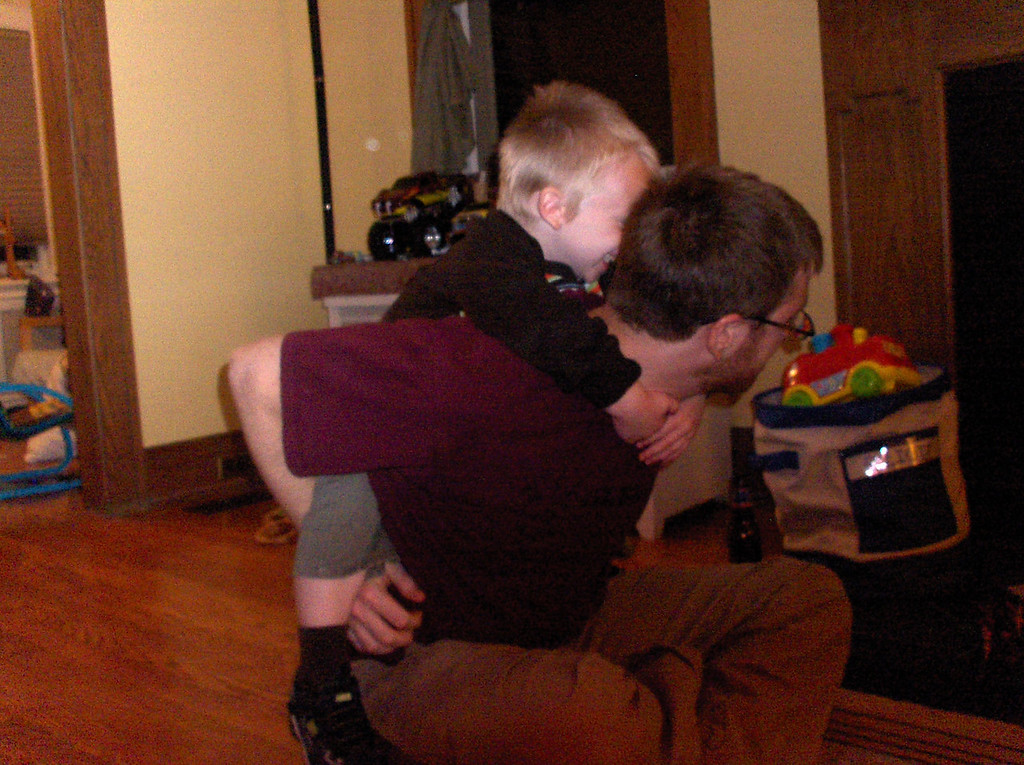 Elliott piggyback ride