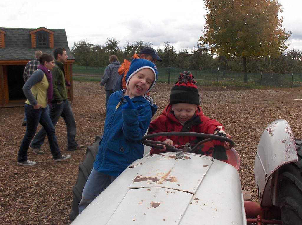 Elliott and Gavin