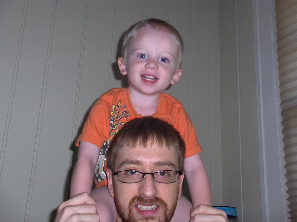 Elliott and Josh Swenson August 2008