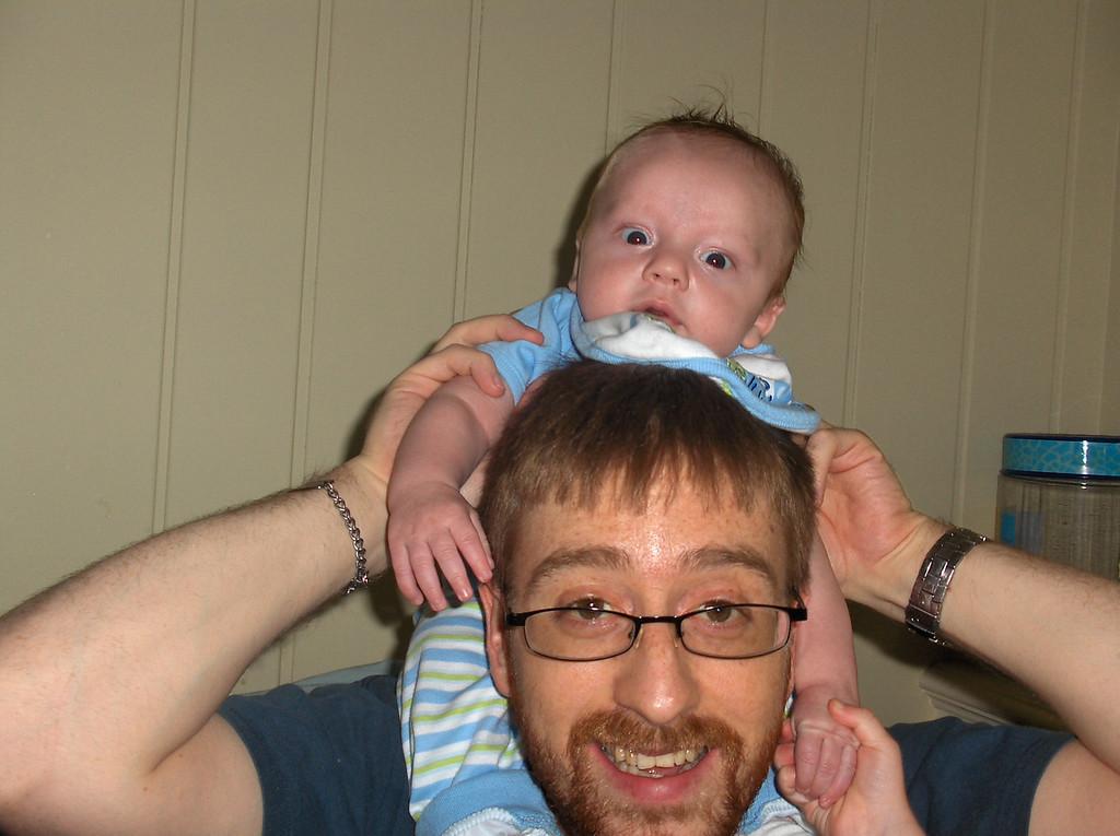 Soren and Josh Swenson August 2008