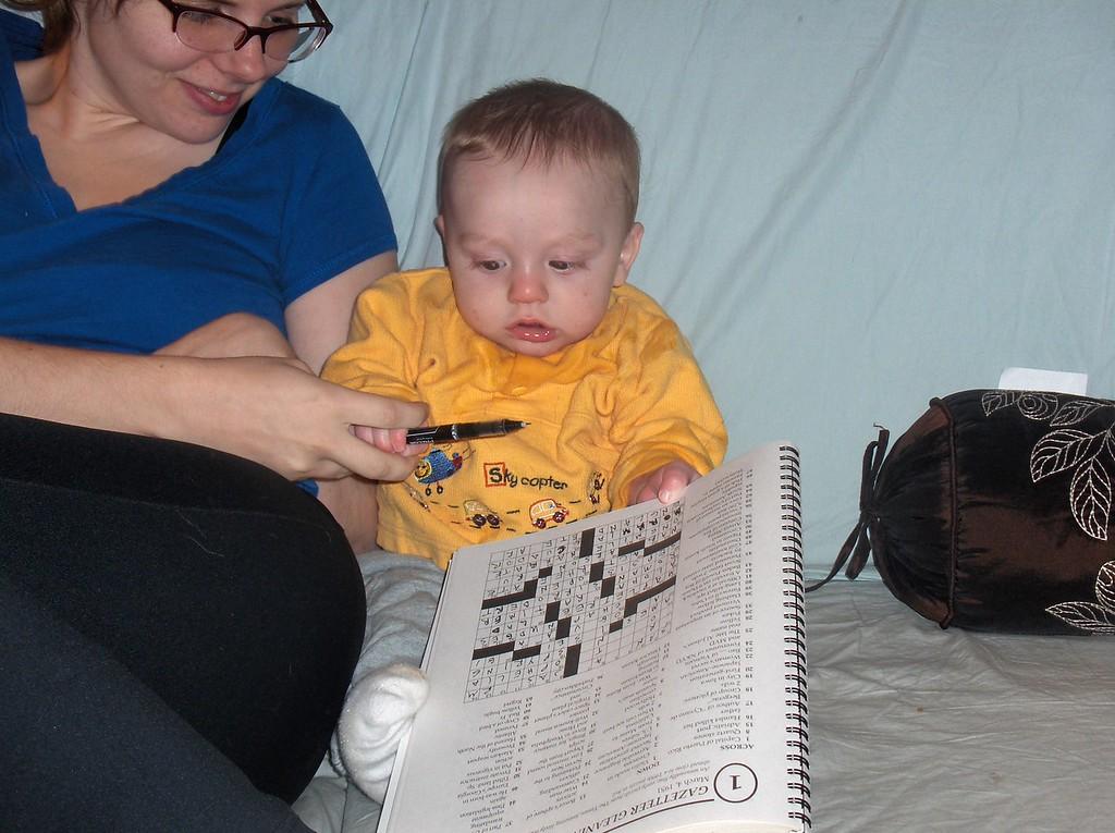Soren and Jennifer Swenson. November 2008